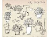 Drawing Of Flowers In the Garden 184 Best Drawing Flower Pot Illustration Images Doodles