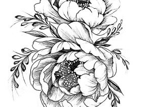 Drawing Of Flowers Pinterest Tattoovorlage Tattoos Pinterest Tattoos Flower Tattoos Und