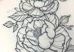 Drawing Of Flowers Tattoo A Tattoo Pinte