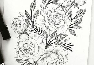 Drawing Of Flowers Tattoo Pin Von Michelle Sander Auf Zeichnen Tattoos Tattoo Designs Und