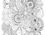 Drawing Of Flowers with Poster Colours Flowers Abstract Coloring Pages Colouring Adult Detailed Advanced