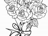 Drawing Of Flowers with Vase Coloring Pages Of Roses and Hearts New Vases Flower Vase Coloring