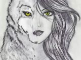 Drawing Of Girl and Wolf Pin by Evelyn Bone On Drawing In 2019 Drawings Art Art Drawings