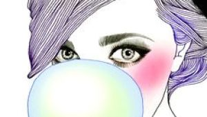 Drawing Of Girl Blowing Bubble Gum 448 Best Bubble Gum Bubbles Images Drawings Bubble Gum Bubbles