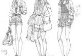 Drawing Of Girl Clothes Drawing Girl Style Zeichnungen Zeichnungsskizzen Und