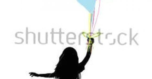Drawing Of Girl Holding Balloons Girl with Balloons Shadow Art Banksy Balloons Floating Balloons