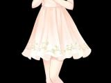 Drawing Of Girl In Dress Es Tu Compaa Era De toda La Vida Manga In 2019 Anime Kawaii