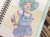 Drawing Of Girl In Overalls 177 Best Dibujo Images On Pinterest Drawing Ideas Sketches and