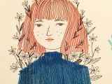 Drawing Of Girl In Sweater Sweater Copic Drawing Illustration Ink Girl Myart Arty