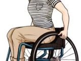 Drawing Of Girl In Wheelchair Art Illustrations with Prosthetics Wheelchairs