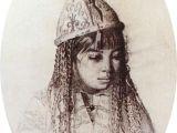 Drawing Of Girl Painting Kirghiz Girl Vasily Vasilevich Vereshchagin Drawings Woman