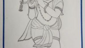 Drawing Of Girl Playing Flute 806 Best Drawing Painting Images In 2019 Hindu Art Hindu Deities