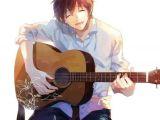 Drawing Of Girl Playing Guitar Anime Guy Playing Guitar Anime Pinterest Anime Anime Guys and