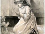 Drawing Of Girl Praying 204 Best Children Praying Vintage Images Cute Kids Beautiful