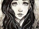 Drawing Of Girl Screaming Nobody Here Has Ever Met Me Eep but I sort Of Look Like This but