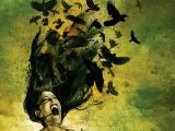 Drawing Of Girl Screaming Release Pajaros En La Cabeza Pinterest Drawings Crows Ravens