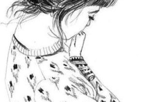 Drawing Of Girl with Bun 8 Best Hair Bun Images