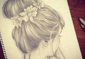 Drawing Of Girl with Bun Drawn Curl Messy Bun Ballerinas Drawings Art Tumblr Drawings