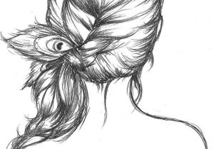 Drawing Of Girl with Bun Peacock Feather Tumblr Drawing Images Pictures Becuo Fashion