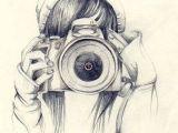 Drawing Of Girl with Camera Artistas Fanartistas Profissionais Ou Amadores Sa O Bem Vindos