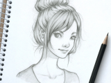 Drawing Of Girl with Messy Bun 30 Draw Girl Hairstyles Loose Bun Hairstyles Ideas Walk the Falls