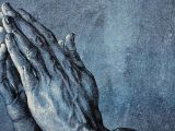 Drawing Of Hands Giving History or Fable Of the Praying Hands Masterpiece