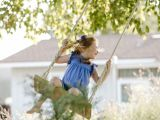 Drawing Of Little Girl On Swing 11 Free Wooden Swing Set Plans to Diy today