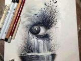 Drawing Of Real Eye Eye Waterfall Eyeball Obsession Drawings Art Drawings Art