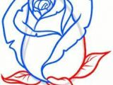 Drawing Of Rose Bud How to Draw A Rose Bud Rose Bud Step by Step Flowers Pop Culture