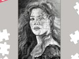 Drawing Of Rose Titanic Kate Winslet Rose Titanic Jigsaw Puzzles Artist Draw On Demand