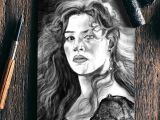 Drawing Of Rose Titanic Kate Winslet Rose Titanic Notebook Artist Draw On Demand