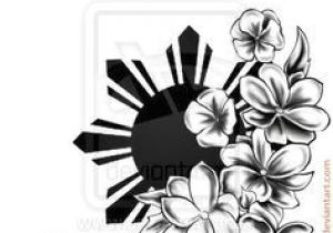 Drawing Of Sampaguita Flower Filipino Sun and Flower Tattoo Google Search Filipino Tattoos