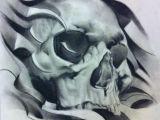Drawing Of Skull Tattoo Portrait Tattoo Skulls Pinterest Tattoos Skull Art and Skull