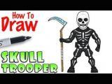 Drawing Of Skull Trooper 29 Best fortnite Images Drawing for Beginners Painted Rocks Skinny