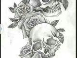 Drawing Of Skull with Flowers Skulls Roses Tattoo Tatuajes Que Me Encantan Pinterest
