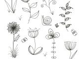 Drawing Of Spring Flowers Easy to Draw Spring Pictures Spring Coloring Pages New Coloring