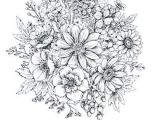 Drawing Of Spring Flowers Floral Composition Bouquet with Hand Drawn Spring Flowers and