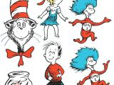 Drawing Of the Cat In the Hat Dr Seuss Cat In the Hat Giant Characters Decorating Kit Drawing