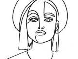 Drawing Of the Eyes and Label Borisschmitz Gaze 324 Continuous Line Drawing by Boris Schmitz
