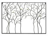 Drawing Of Three Hands Three Hands 32434 Black Metal Trees with Birds Wall Sculpture Metal
