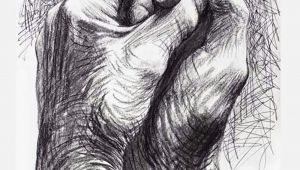 Drawing Of Two Hands Clasped together Cave to Canvas Alecshao Henry Moore the Artist S Hands 1974 Two