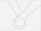 Drawing Of Two Hands together 4 Ways to Draw A Couple Holding Hands Wikihow