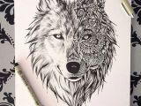 Drawing Of Wolf Face Beautiful Wolf Drawing as A Tattoo Always Ink Tattoos Wolf