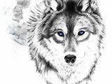 Drawing Of Wolf Face Wolf Tattoo Tumblr Love This Wolf and Moon Tattoooooo