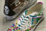 Drawing On Vans Ideas 63 Best Sneaker Drawings Images Loafers Slip Ons Painted