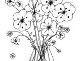 Drawing Pictures Of Flowers In A Vase Cool Vases Flower Vase Coloring Page Pages Flowers In A top I 0d