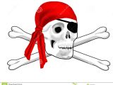 Drawing Pirate Skull and Crossbones Pirate Skull and Bones Stock Illustration Illustration Of isolated
