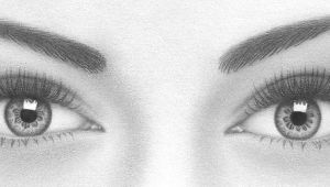 Drawing Realistic Eyes Easy How to Draw A Pair Of Realistic Eyes Rapidfireart