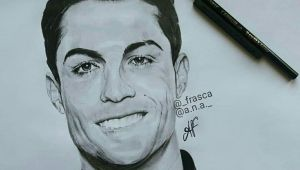 Drawing Ronaldo Easy Nice Drawing Of Cristiano Ronaldo D D D Goodnight Photos From
