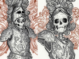 Drawing Scary Skulls the Detailed Art Of J M Dragunas Scary Beautiful 2 Art Skull